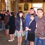 Перед началом праздника поклонились Св. блаженному Павлу Таганрогскому.
