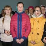 Ученики воскресной школы.