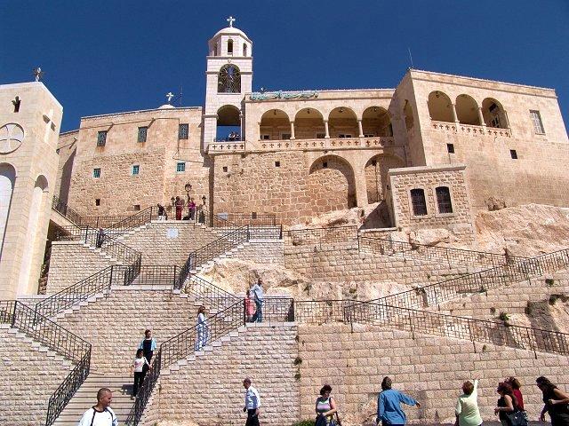 Panaghia Saidnaya Монастырь в Сирии